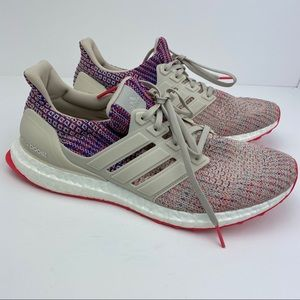 Adidas UltraBoost Multi Colored Running Shoes